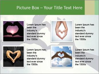 Heart In Sky PowerPoint Template - Slide 14