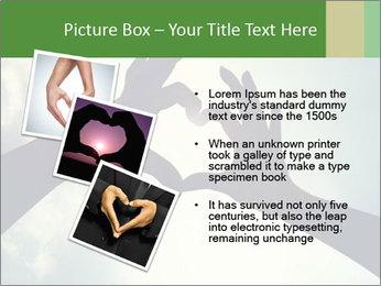 Heart In Sky PowerPoint Template - Slide 17