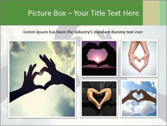 Heart In Sky PowerPoint Template - Slide 19