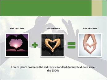 Heart In Sky PowerPoint Template - Slide 22