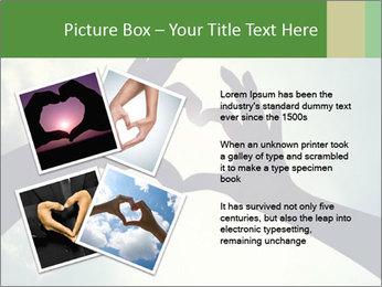 Heart In Sky PowerPoint Template - Slide 23
