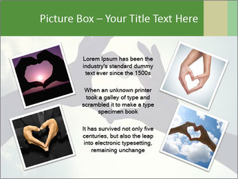 Heart In Sky PowerPoint Template - Slide 24