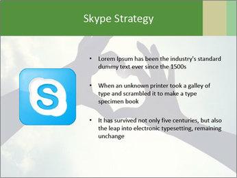 Heart In Sky PowerPoint Template - Slide 8