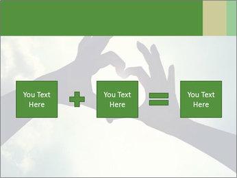 Heart In Sky PowerPoint Template - Slide 95