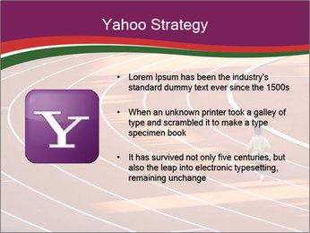 Running Marathon PowerPoint Template - Slide 11