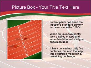 Running Marathon PowerPoint Template - Slide 13
