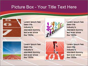 Running Marathon PowerPoint Template - Slide 14