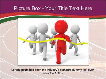 Running Marathon PowerPoint Template - Slide 16