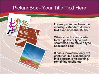Running Marathon PowerPoint Template - Slide 17