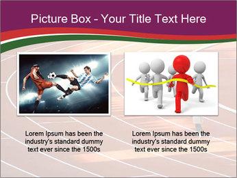 Running Marathon PowerPoint Template - Slide 18