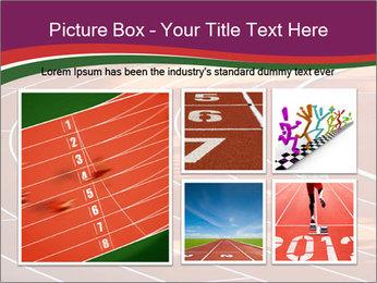 Running Marathon PowerPoint Template - Slide 19