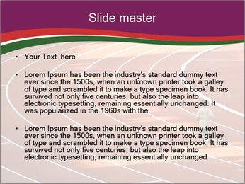 Running Marathon PowerPoint Template - Slide 2