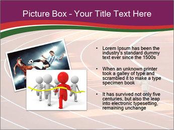 Running Marathon PowerPoint Template - Slide 20