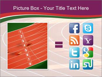 Running Marathon PowerPoint Template - Slide 21