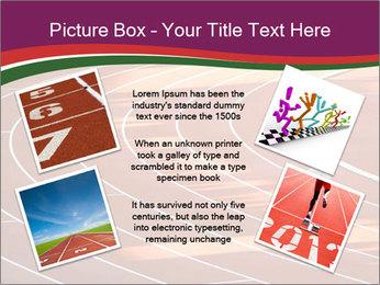 Running Marathon PowerPoint Template - Slide 24