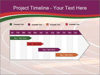 Running Marathon PowerPoint Template - Slide 25