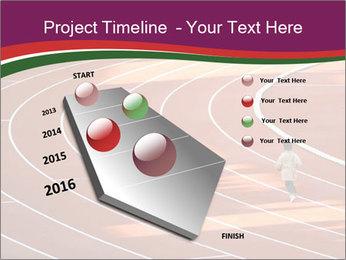 Running Marathon PowerPoint Template - Slide 26