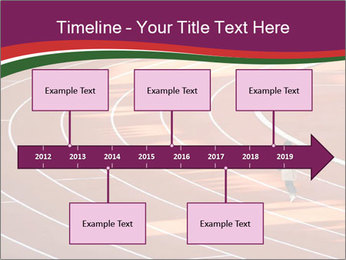 Running Marathon PowerPoint Template - Slide 28