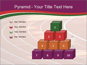 Running Marathon PowerPoint Template - Slide 31