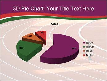 Running Marathon PowerPoint Template - Slide 35