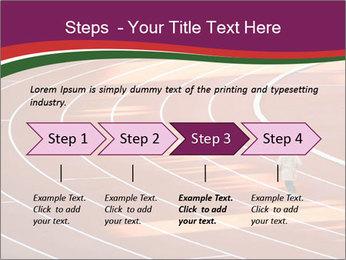 Running Marathon PowerPoint Template - Slide 4