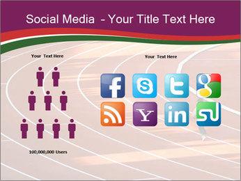 Running Marathon PowerPoint Template - Slide 5