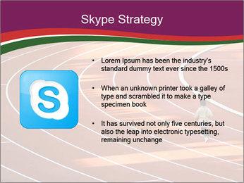 Running Marathon PowerPoint Template - Slide 8