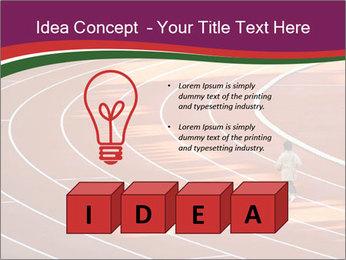 Running Marathon PowerPoint Template - Slide 80