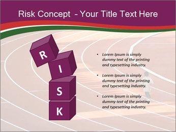 Running Marathon PowerPoint Template - Slide 81
