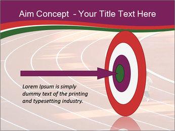 Running Marathon PowerPoint Template - Slide 83