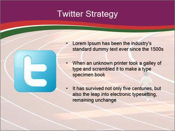 Running Marathon PowerPoint Template - Slide 9