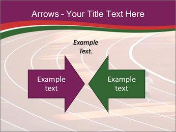 Running Marathon PowerPoint Template - Slide 90