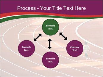 Running Marathon PowerPoint Template - Slide 91