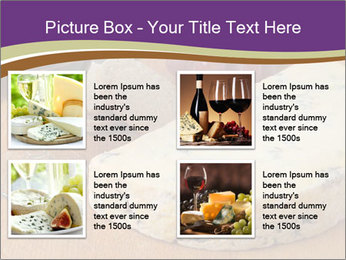 French Wine And Cheese PowerPoint Template - Slide 14