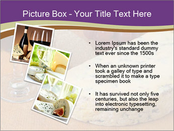 French Wine And Cheese PowerPoint Template - Slide 17