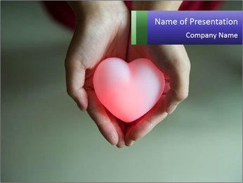 Valentine Heart PowerPoint Template