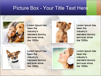 Dog In Headphones PowerPoint Template - Slide 14