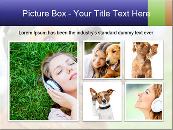 Dog In Headphones PowerPoint Template - Slide 19