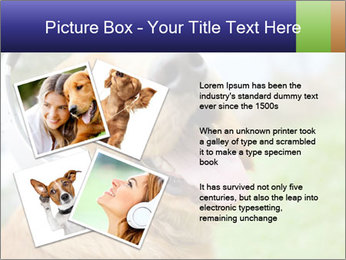 Dog In Headphones PowerPoint Template - Slide 23