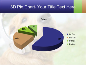 Dog In Headphones PowerPoint Template - Slide 35