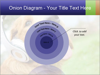 Dog In Headphones PowerPoint Template - Slide 61