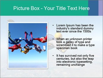 Jump With Parachute PowerPoint Templates - Slide 13