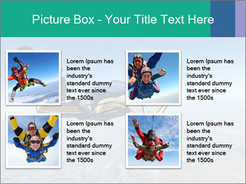 Jump With Parachute PowerPoint Templates - Slide 14