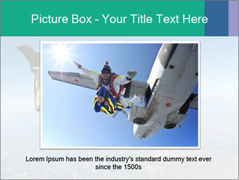 Jump With Parachute PowerPoint Templates - Slide 16