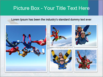 Jump With Parachute PowerPoint Templates - Slide 19