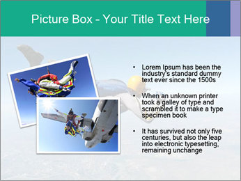 Jump With Parachute PowerPoint Templates - Slide 20