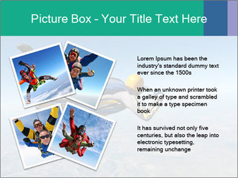 Jump With Parachute PowerPoint Templates - Slide 23
