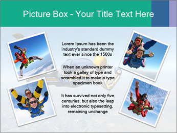 Jump With Parachute PowerPoint Templates - Slide 24