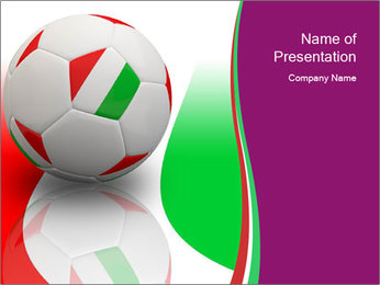 Football Competition PowerPoint Template - Slide 1