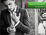 Handsome Man PowerPoint Templates